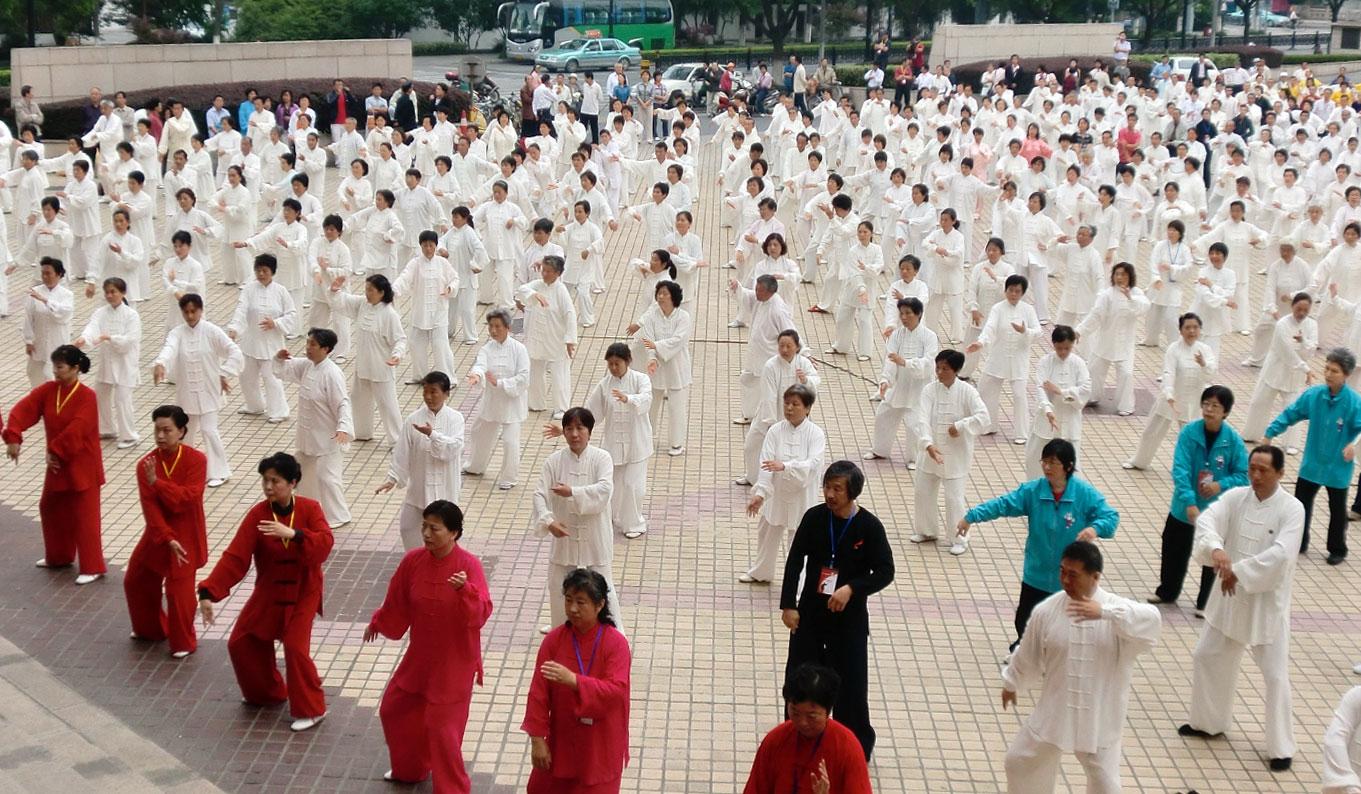 Tai Chi harmonie-in-bewegung