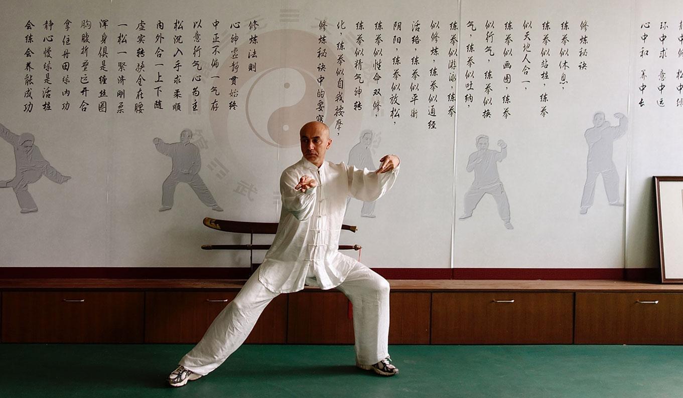 Tai Chi Chen Meister Giv sarafnia